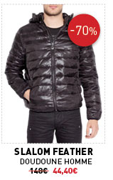 Slamon Feather Doudoune homme 148€ -70% 44,40€
