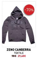 Zeno Canberra Textile homme 98€ -70% 29,40€