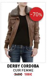 Derby Cordoba - cuir femme 360€ -70% 108€
