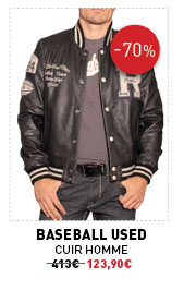 Baseball Used cuir homme 413€ -70% 123,90€