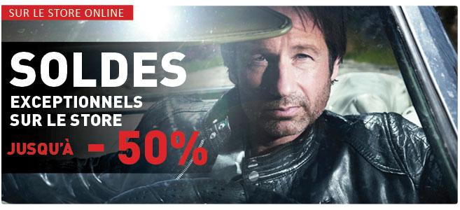 Soldes exceptionnels sur le store jusqu'à -50% !