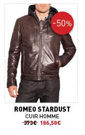 Romeo Stardust cuir homme 373 € -50% 186,50 €